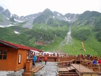 絶景の奥穂高岳を堪能
