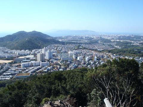 栂尾山からの眺望