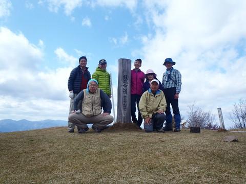 蘇武岳山頂