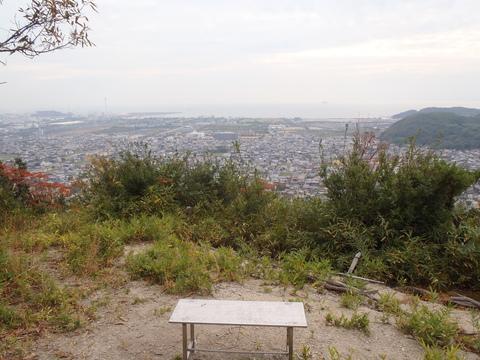 一本松山の眺望