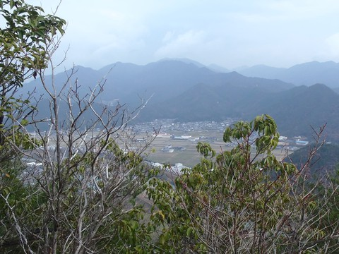 妙見山と白山