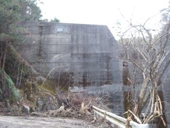 黒蔵村跡にメガソーラー建設計画