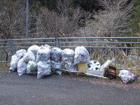 「犬塚」周辺の清掃活動しました