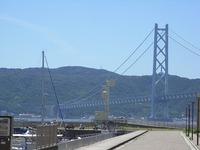 マリンピアから明石大橋