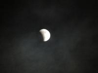 皆既月食・・・